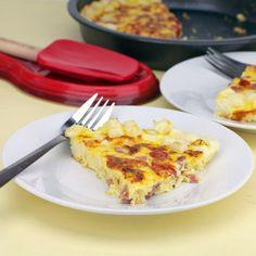 Hash Brown Frittata Recipe | MrBreakfast.com