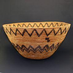 California Native American Indian Baskets - Yokuts Basket