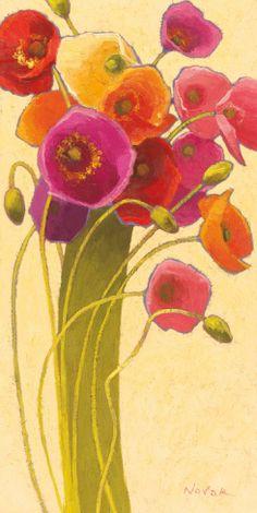 Amapola Barcelona II Print by Shirley Novak at Art.com