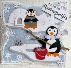 Image result for marianne design penguin cutting die