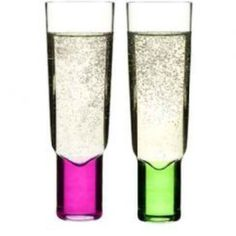Delight Champagne Glasses by Sagaform; http://www.thecheeseandwineshop.co.uk/products/sagaform-champagne-glass-set-2pc.asp