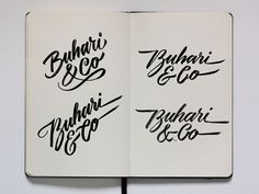 The (sketch)Book of Logos by Jackson Alves, via Behance