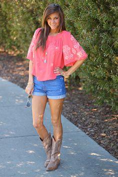 Popular Crop Tops Cowboy Boots Crop Tops Cowboys Bows Purple Gold Boots Shorts