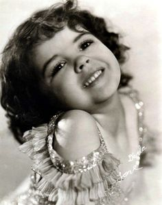 Sweet little Darla Hood appeared in Our Gang movies.