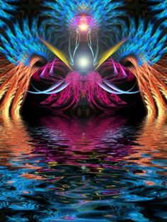 Fantastic, metaphysical and surrealistic subject matter, kaleidoscopic, fractal or paisley patterns, bright and/or highly contrasting colours,...