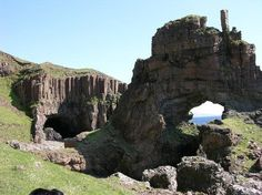 Carsaig Arches - Isle of Mull, The Hebrides Attractions ...
