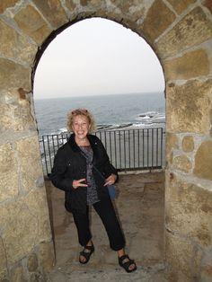 Knights Templar Arch to the Sea - Akko, Israel