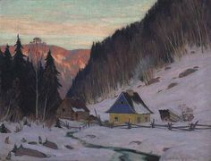 11 museum-quality painting reproductions of all Clarence Gagnon most popular paintings Popular Paintings, Old Paintings, Landscape Paintings, Canadian Painters, Canadian Artists, Artist Painting, Artist Art, Clarence Gagnon, Of Montreal