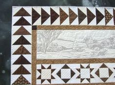 over the river and through the woods quilt | Tamarack Shack: Over the River and Through the Woods...