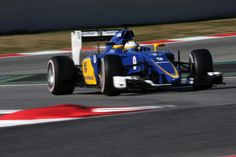 2015 pre-season - test two in #Barcelona. Day 3. Marcus Ericsson. Sauber F1 Team. ► Learn more about us on www.sauberf1team.com - #F1 #SauberF1Team #ME9 #MarcusEricsson #FN12 #FelipeNasr #SauberC34 #FormulaOne #Formula1 #motorsport #photography
