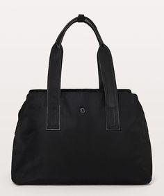 b08959da81 Go Getter Bag - for my new job  160 Lululemon Black plz Go Getter