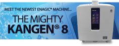 Enagic's state of the art technology, the new K-8 the only water ionizer on the market that's classified as a medical device made for the home consumer. Produces unlimited amounts of ionized, micro-clustered, super-hydrating, great tasting Kangen water, made right in your home for pennies a day!