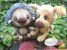 Project by irina_handknitting. Dog Boka & Hadgehog Kuka crochet pattern by Pertseva for LittleOwlsHut.#LittleOwlsHut#crochet pattern#hedgehog# dog# Boka# amigurumi#Pertscrafts#DIY#crafts#toy#