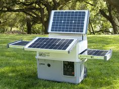 Get instant access to renewable power anywhere you go. Wagan's Solar ePower Cube is the ultimate portable power source. Simply charge the internal battery using its 5 total solar panels, which fold out from the top and roll out from each side, and you will have enough power to run your AC, USB or DC devices from anywhere.