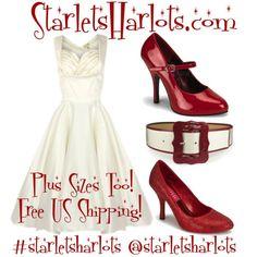 Pin Up Clothing Starlet Sharlots Plus-size fashion, vintage clothing