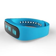 Eonego Bluetooth 4.0 Waterproof Smart Bracelet Calorie Tracker Sport Wrist Pedometer Health Sleep Monitor Wristband Smartphones,Blue >>> Check out the image by visiting the link.