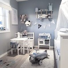Luxurious Nursery Room Design You'll Love Baby Bedroom, Baby Boy Rooms, Baby Boy Nurseries, Nursery Room, Girl Nursery, Kids Bedroom, Nursery Ideas, Boy Toddler Bedroom, Child Room