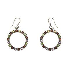 Boucles d'oreilles - Anneaux en Argent et multiples pierres de ShalinIndia, http://www.amazon.fr/gp/product/B00B0UUFTK/ref=cm_sw_r_pi_alp_x-Ierb0C00Z7E