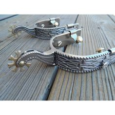 New Custom Bull Riding Rodeo Spurs Buy It Now  Click me