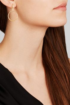Maria Black | Auro gold-plated earrings | NET-A-PORTER.COM