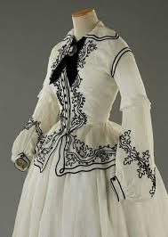 1860's fashion - Embroidery