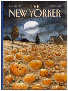 New Yorker cover by Charles Addams
