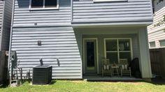 Inexpensive Backyard Makeover Under $5,000 — Yardzen | Online Landscape Design Poured Concrete, Concrete Pavers, Online Landscape Design, Organic Lawn Care, Zen, Plantain Lily, Hardy Plants, Backyard Makeover