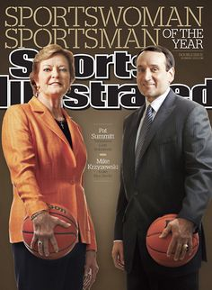 Potentially the two best college basketball coaches of all time? #MBB #WBB