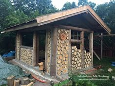 Pelle Henriksson has added to his portfolio with these new pictures of his backyard sauna in Sweden.  He calls his Facebook building site Kubbhusbastu which translates to Cordwood Sauna which Pelle…