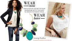 Serenity Necklace -- $198.  http://shop.stelladot.com/style/b2c_en_us/featured-shops/wear-now-wear-later/n276mu.html