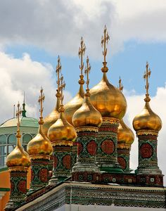 The Kremlin, Moscow, Russia. Saw only the outside, closed for construction and Holidays when I went