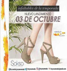Nueva Colección!! Apuesta por los nuevos looks #Sokso para Primavera - Verano http://fb.com/kryscaesmoda  ✨ DESDE LUNES 3 de Octubre ✨  ✈   KRYSCA Moda (@kryscamoda) | Twitter