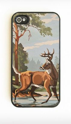Vintage Paint-By-Number iPhone Case