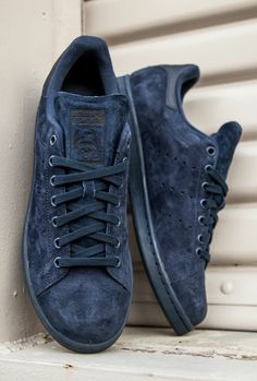 dbbd41c412c Adidas Women Shoes - adidas Originals Stan Smith  Midnight - We reveal the  news in sneakers for spring summer 2017
