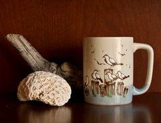 Vintage Otagiri Seagull Mug Japan. via Etsy.
