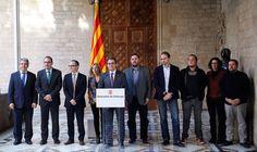 """Doble pregunta para la consulta: """"¿Quiere que Cataluña sea un Estado? y ¿Quiere que sea independiente?"""""""
