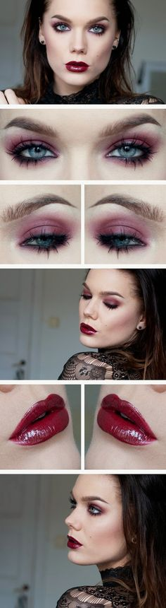 So Pretty ♥ Linda Hallberg - incredible makeup artist. Very inspiring -- from her daily makeup blog. | Inspiration for upcoming projects by Adagio Images at www.adagio-images.com/modeling or www.facebook.com/adagioimages | #makeup #makeupinspiration ♥