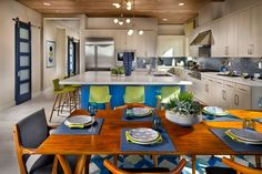 #kitchen Furniture, Home And Family, Alcove, Floor Plans, New Homes, Kitchen