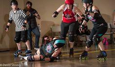 6.6.15 Springfield Roller Girls vs Cape Girardeau Roller Girls SRG 126 CGRG 148 MVP blocker Molotov  MVP jammer Salty