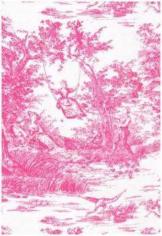 Pink toil!