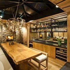 Rustic kitchen design justeyecandy.com