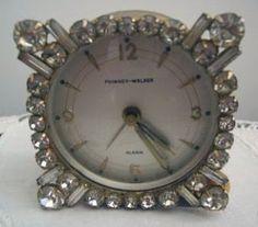 Shab-n-Chic: Rhinestone Clocks