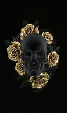 IPhone Colorful Wallpaper Background Skull Rose