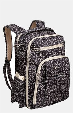 Best back pack Ive ever had... and its a diaper bag. #youdneverknow Ju-Ju-Be 'Be Right Back' Diaper Backpack available at #Nordstrom