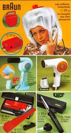 Trockenhaube 70er...hahaaa....Mama hatte eine