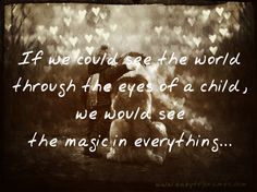 Image Result For See Christmas Thru A Childs Eyes Quoteslaughs