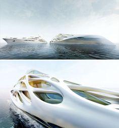 ~Zaha Hadid Superyacht 2 | The House of Beccaria#