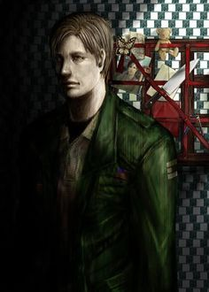 """militarypenguin: """" By Rambrella. Slient Hill, Silent Hill Art, Pyramid Head, The Evil Within, Video Game Characters, Sunderland, Resident Evil, The Man, Horror"""