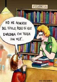 Libros y bibliotecas.