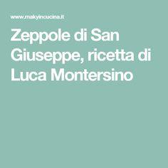 Zeppole di San Giuseppe, ricetta di Luca Montersino